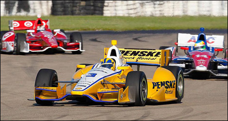 IndyCar Helio Castroneves Penske Racing