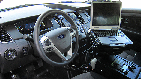Ford Police Interceptor equipement