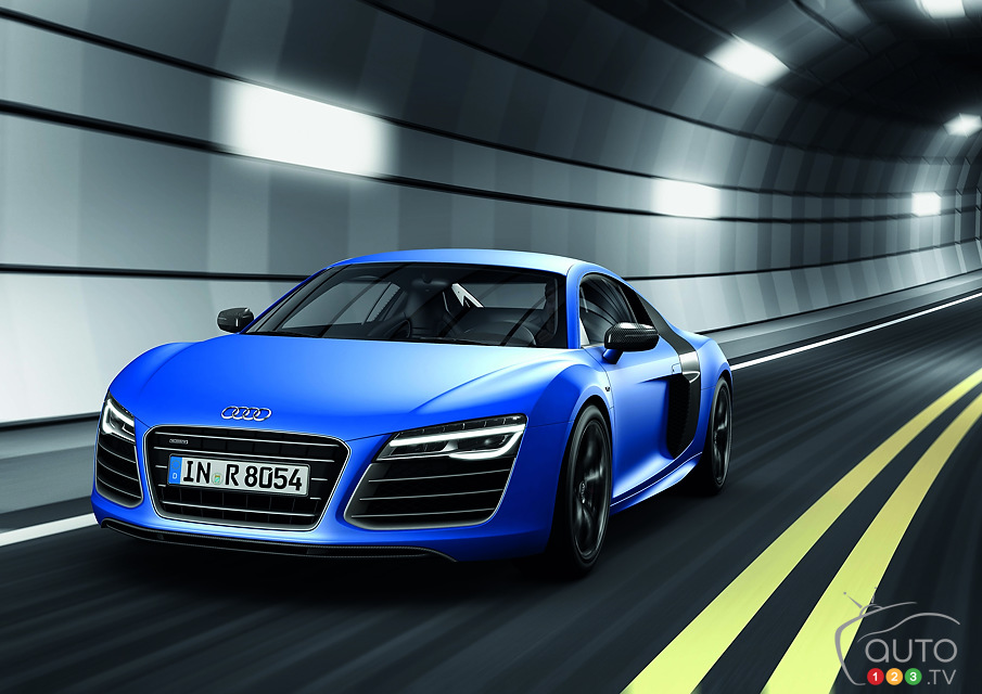 2013 Audi R8: Lots of Power Under the Hood!