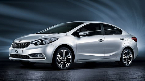2014 kia forte i1 2014 Kia Forte: First Official Photos