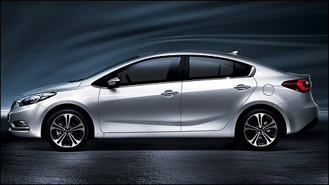 2014 kia forte i2 2014 Kia Forte: First Official Photos