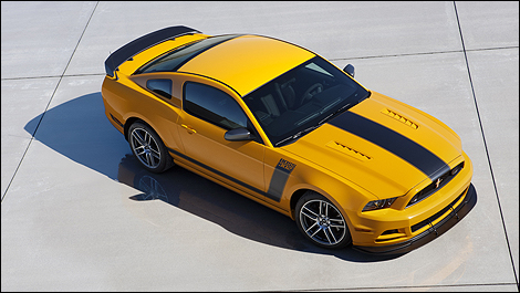 2013 Ford Mustang 302 i2 A Mustang Boss 302 Laguna Seca for Auction