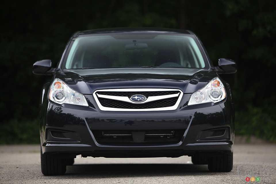 2012 Subaru Legacy 2.5i Convenience Review