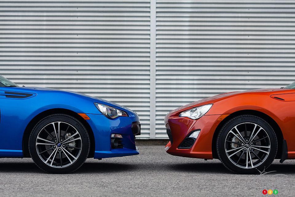 2013 Subaru BRZ vs. 2013 Scion FR-S