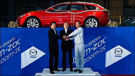 Mazda6 2014 i01 Mazda6: latest production has begun in Japan