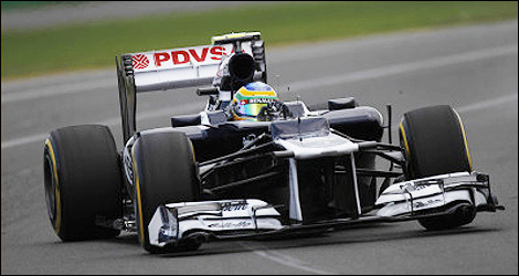 F1 Williams FW31 Bruno Senna