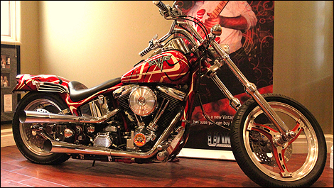 Harley Davidson Van Halen i1 Fancy Eddies Harley?