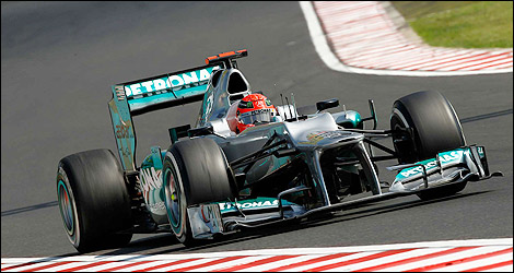 F1 Mercedes AMG Michael Schumacher