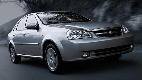 Chevrolet Optra 2006 i01 Chevrolet Optra being recalled for headlight issue
