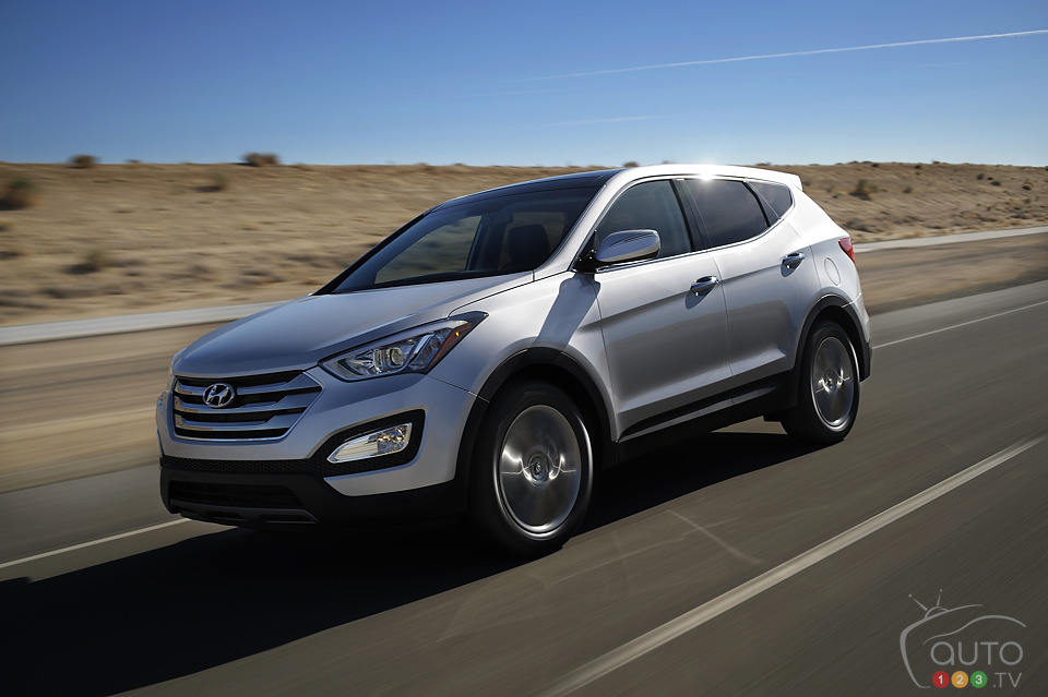 2013 Hyundai Santa Fe: lots of upgrades for the same price