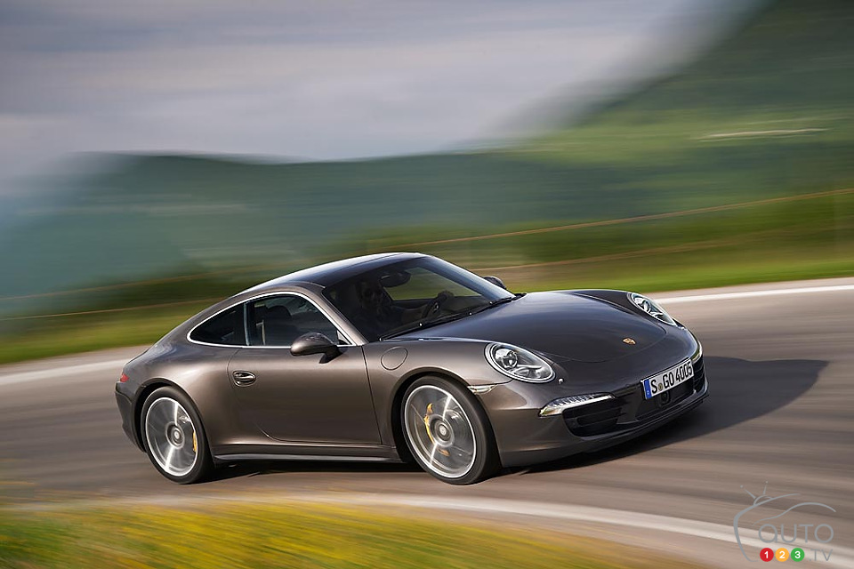 2013 Porsche Carrera 4 gets upgraded AWD system