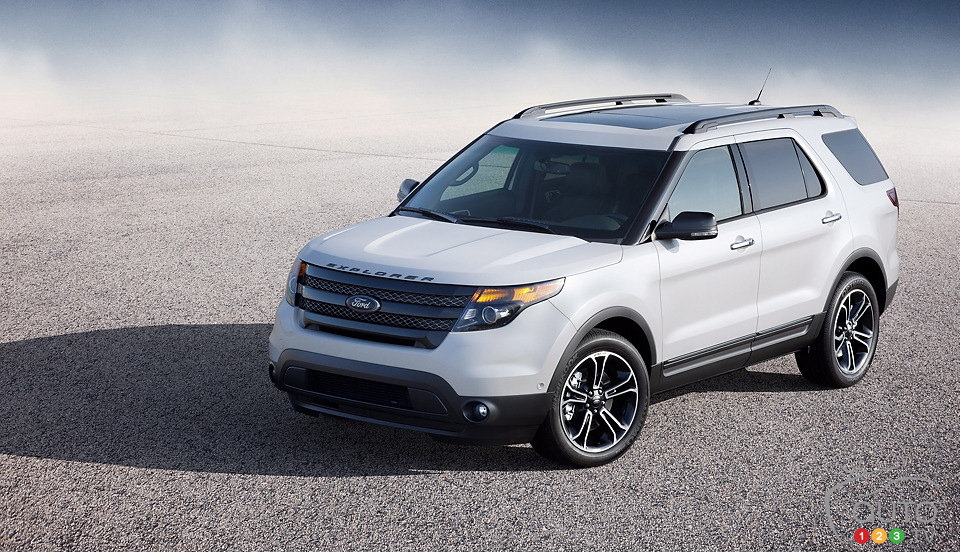 2013 Ford Explorer Sport promises class-leading fuel economy
