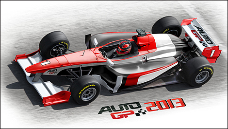 Single Seater Auto Racing Cars on Auto Gp Series To Launch New Car For 2013   Auto123 Com