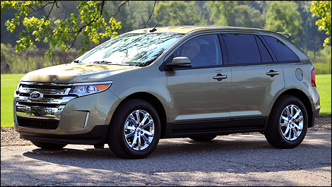 2012 Ford Edge left side view