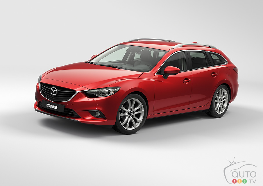 New Mazda6 Wagon to debut in Paris