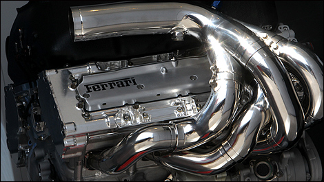 Ferrari F1 V8 engine