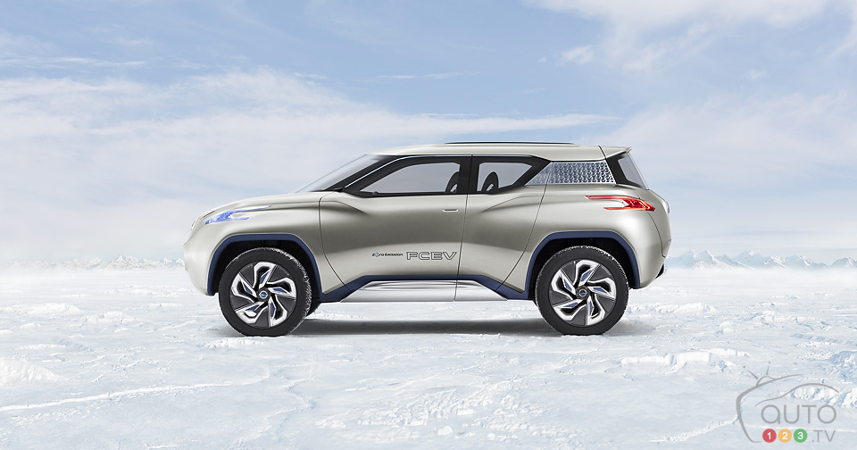 Nissan TeRRA electric: sneak peek at the Mondial de Paris