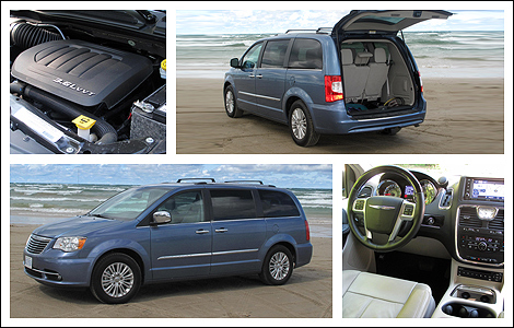 2012 chrysler town country limited review auto news 5. Black Bedroom Furniture Sets. Home Design Ideas