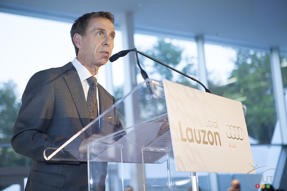 Inauguration and Canadian launch for Audi Lauzon