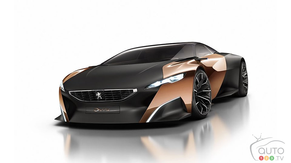 Peugeot Onyx: Mondial de Paris world premier