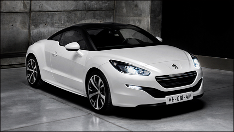 peugeot rcz r concept au mondial de paris nouvelles auto123. Black Bedroom Furniture Sets. Home Design Ideas
