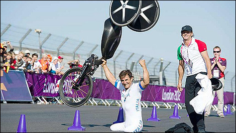 Held Paralympics in London, England