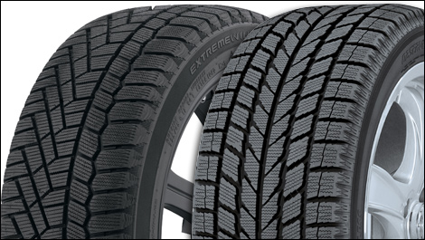 Toyo Observe Garit KX and Continental Extreme Wintercontact