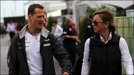 Schumacher 2013 f1 f1 Michael Schumacher Sabine