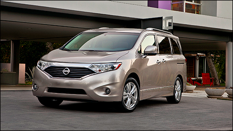 2013 Nissan Quest i1 Nissan Canada reveals 2013 Quest prices