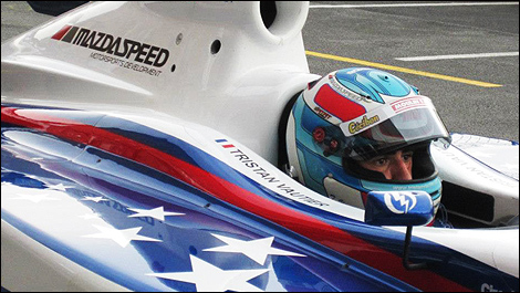 Tristan Vautier Indy Lights 2012