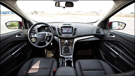 2013 Ford Escape SE 4WD interior