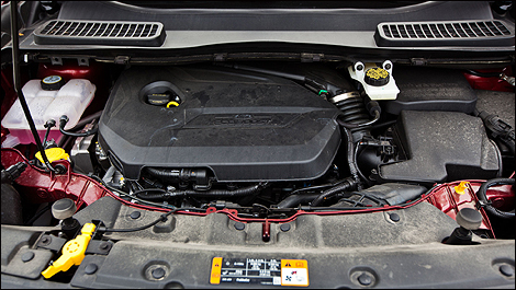 2013 Ford Escape SE 4WD engine