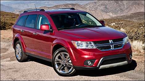 2013 Dodge Journey 3/4 front view