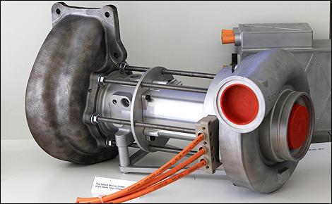 Heat Motor Generator Unit