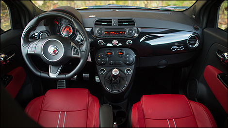 Fiat 500 abarth 2012 essai routier for Fiat 500 interieur