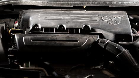 2012 Fiat 500 Abarth engine