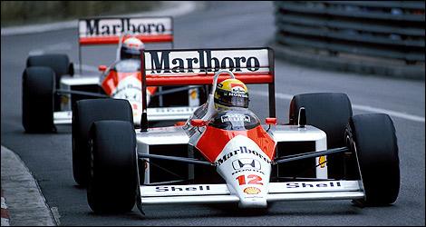 GP de Mônaco de Formula 1, Monte Carlo, em 1988 - by auto123.com