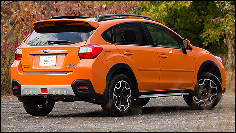 The 2013 Subaru XV Crosstrek is surprisingly lithe on its toes for an