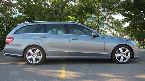 2012 Mercedes-Benz E 350 4MATIC Wagon side view