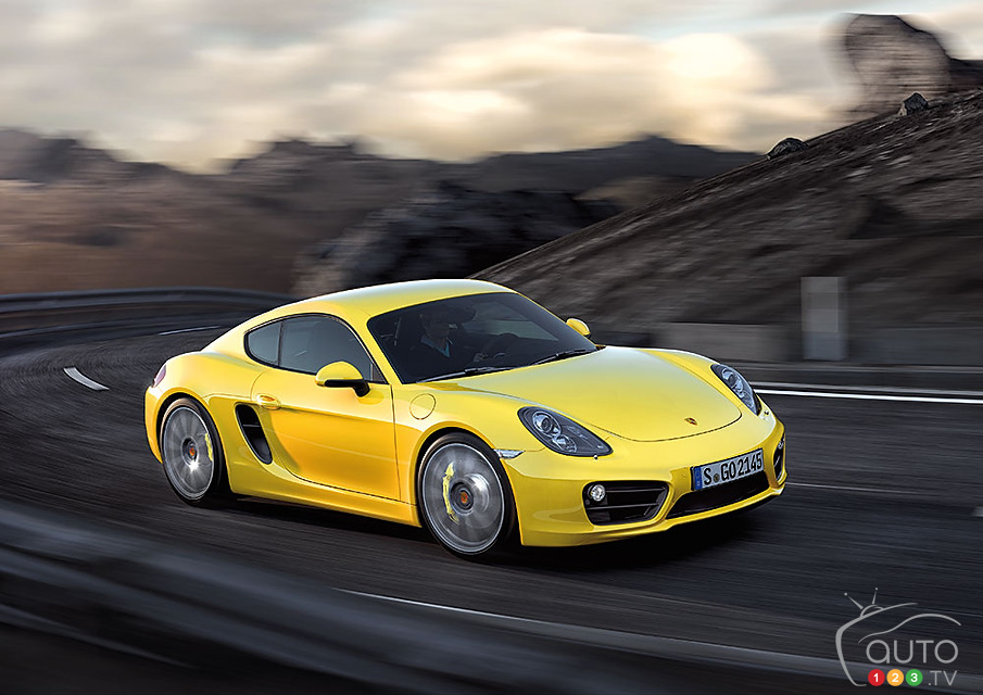 All-new Porsche Cayman finally unveiled!