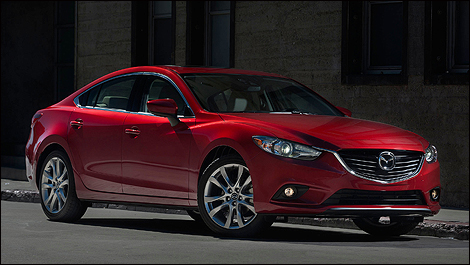 2014 Mazda6 front 3/4 view