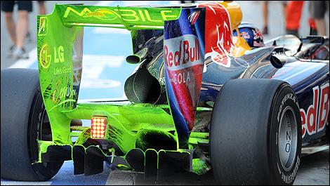 Car That Runs On Air >> F1 Technique: What is flow visualisation paint? | Auto123.com