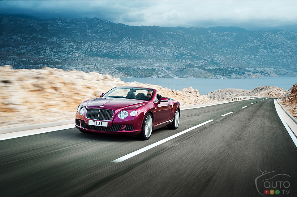 Bentley Continental GT Speed Convertible to be launched in Detroit