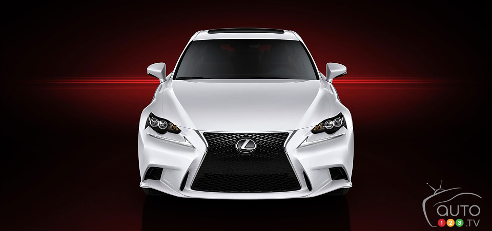 First official pictures of 2014 Lexus IS