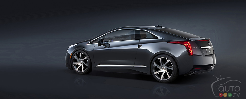 All-new 2014 Cadillac ELR electrifies Detroit stage