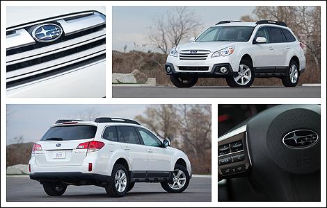 2013 Subaru Outback 2.5i Convenience Review Editor's Review   Auto123