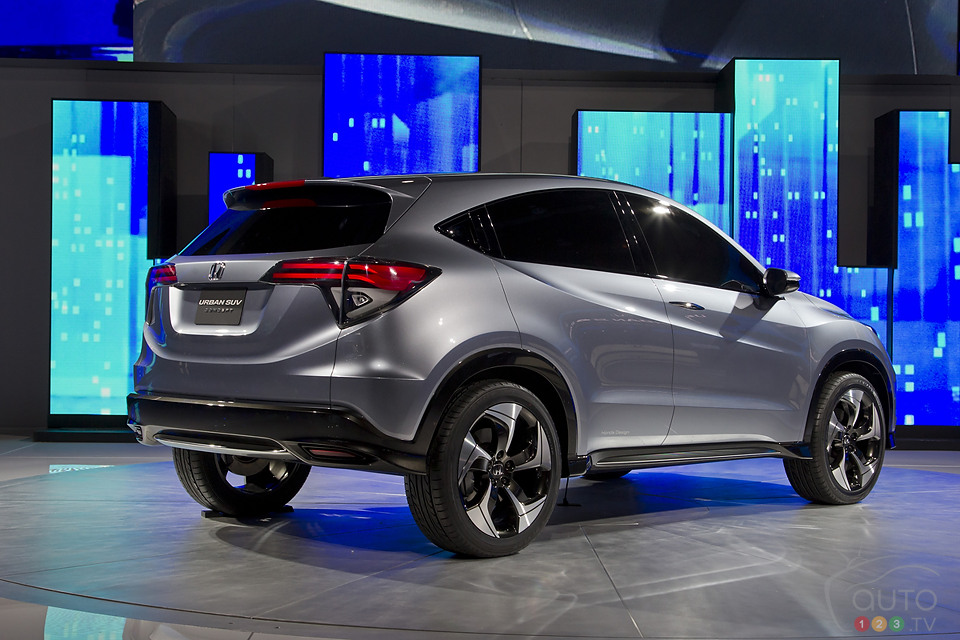 Honda's Urban SUV Concept revealed in Detroit: Photo Gallery