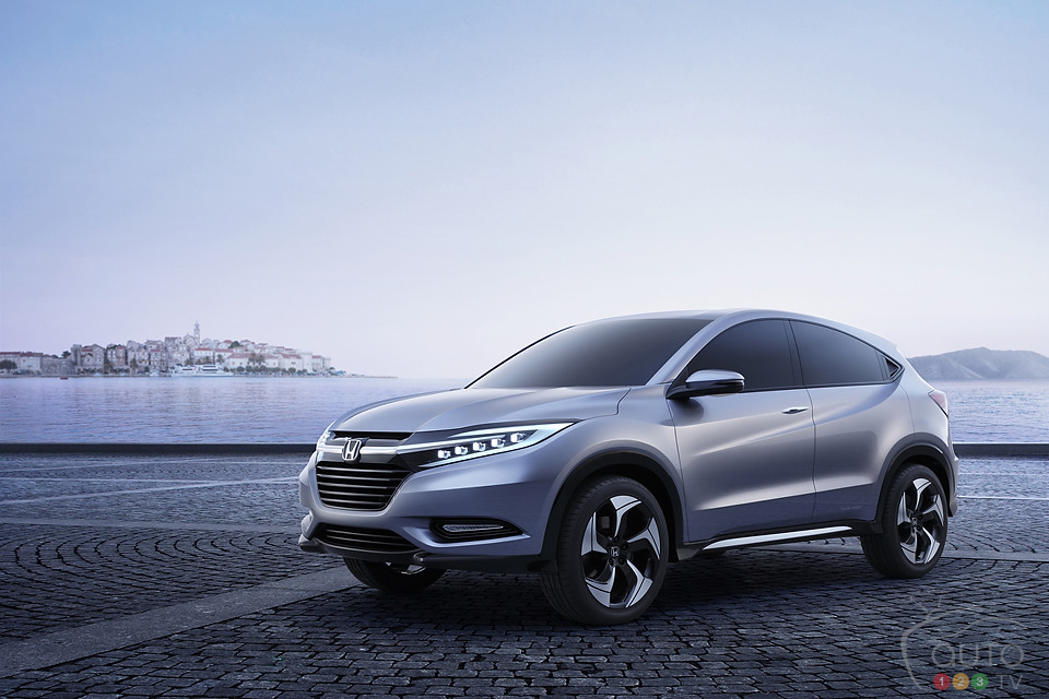 Honda's Urban SUV Concept revealed in Detroit