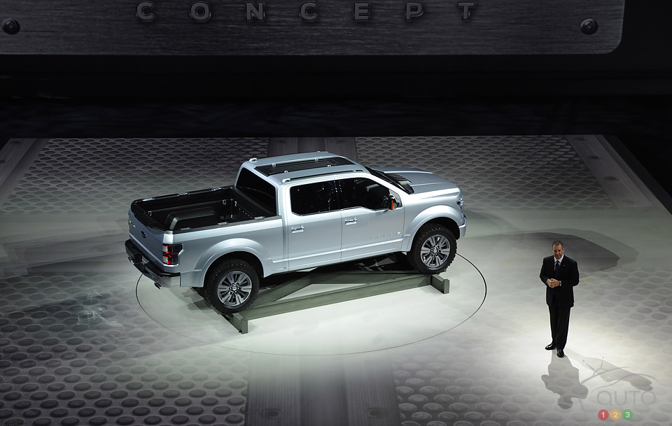 Ford Atlas Concept in Detroit hints at future F-150