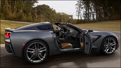 Corvette Stingray   Sale on Auctions Off 2014 Corvette Stingray No 0001 Car News On The Corvette